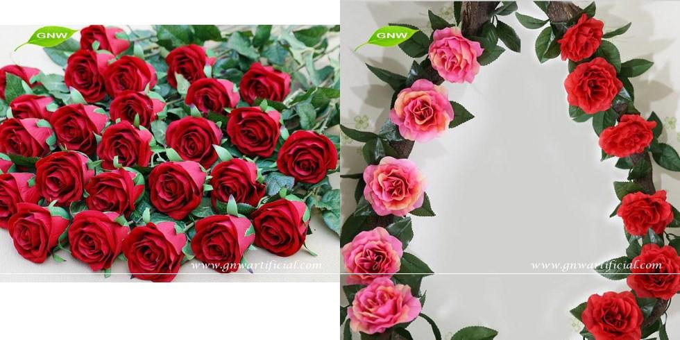 blanc hortensia bouquet fleurs coup es bonne qualit d corative fleurs artificielles pour le. Black Bedroom Furniture Sets. Home Design Ideas