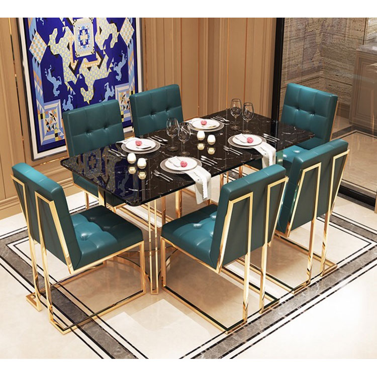 Modern Simple Style Tempered Glass Stainless Steel Legs Dining Table For 6 Seater Buy Tempered Glass Table Modern Dining Set Stainless Steel Dining Table Designs Product On Alibaba Com