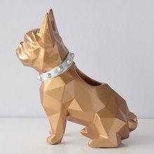 Полимерная Статуэтка для собаки, держатель для ручки, настольный органайзер, офисные аксессуары для хранения, стол для хранения карандашей,...(Китай)