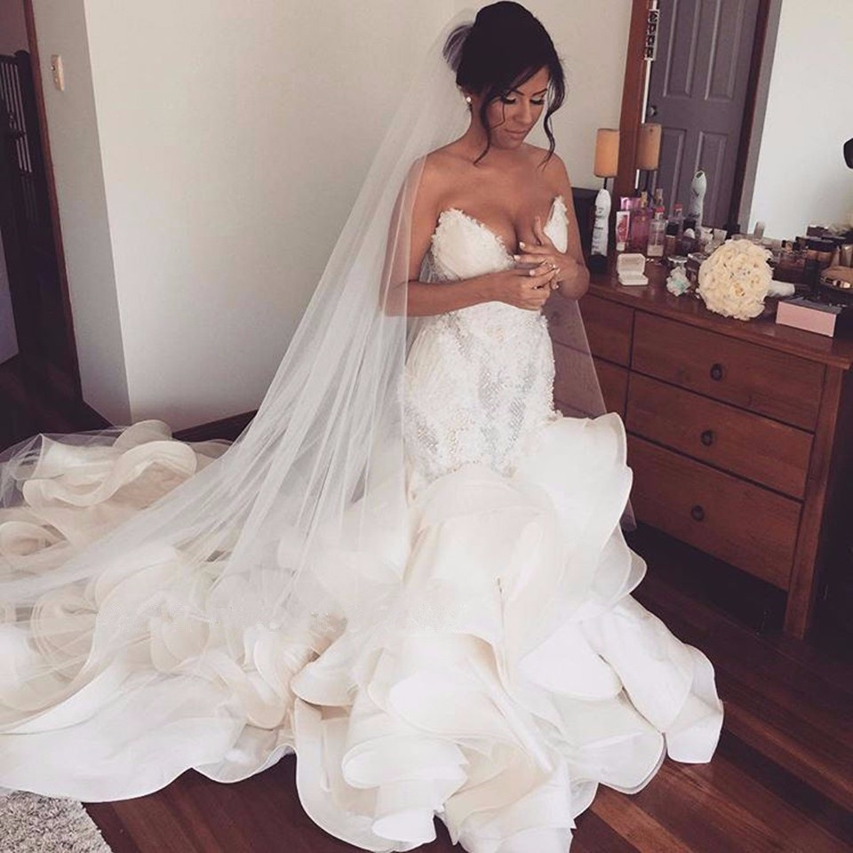 12bc694017f5f Detail Feedback Questions about luxurious New designer 2017 Organza ...