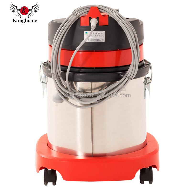 Многофункциональный профессиональный промышленный ручной пылесос для сухой и влажной уборки для отеля, 15 л, 1000 Вт