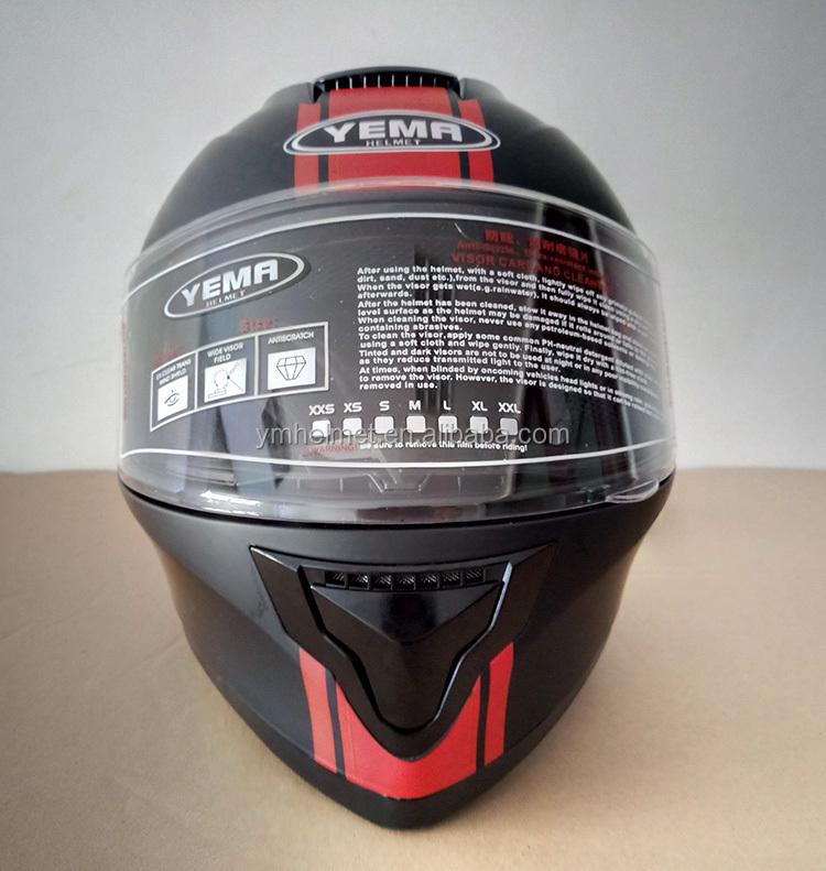 helmet single visor