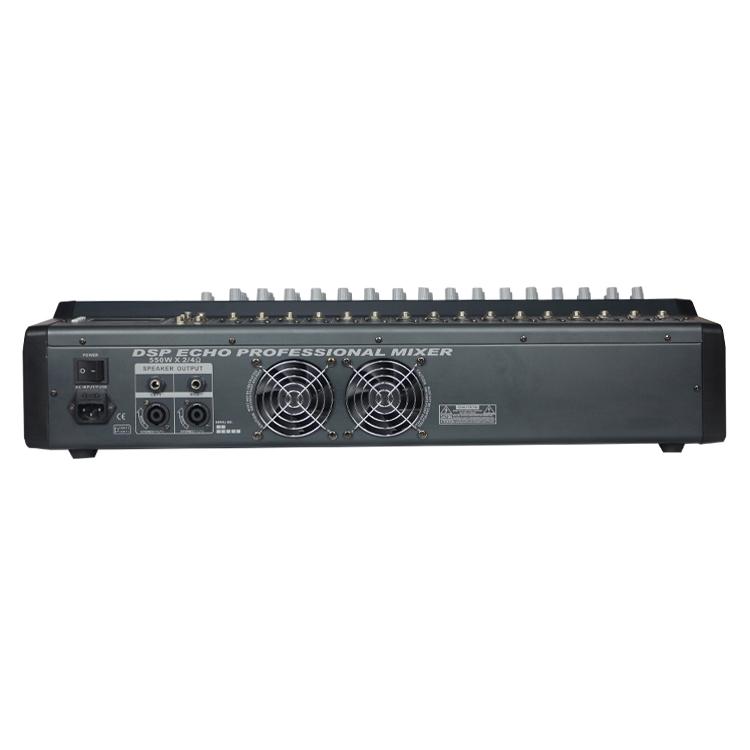 PMX1602 силовой Блендер Миксер Для 16ти-канального видеорегистратора Профессиональное аудио DJ микшер консоли