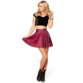 2016 New Arrivals Women s AA style Fitness fish scale pattern Bust skirt sports tennis skirt