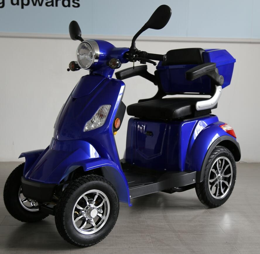 1000w EEC 4 wheel handicapped adult electric mobility scooter