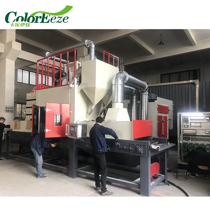 Manufacture of high quality automatic sandblasting machine for sale