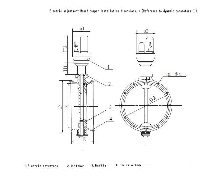 motorized damper, electric damper actuator products from