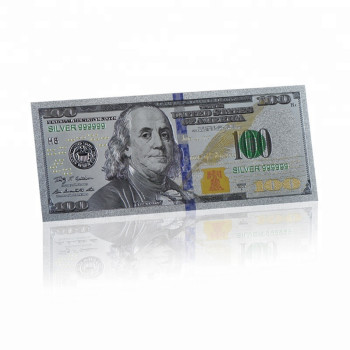 The Best US Money 100 Dollar Silver banknote Silver 999999 Code American Banknote For Collection