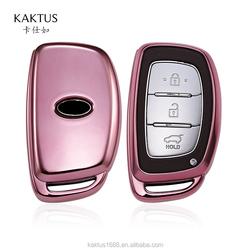 Чехол для ключей для HYUNDAI Verna Avante Elantra MISTRA Sonata i25 i35 TucsonCar, чехол для ключей из ТПУ, защитный чехол, корпус для ключей