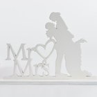 Wedding Cake Toppers Mr Mrs Bride Groom Funny Monogram Wedding Cake Toppers For Bride And Groom