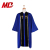 Royal Blue Black Front Panel Choir Uniform Wesley Style Wholesale Clergy Robes