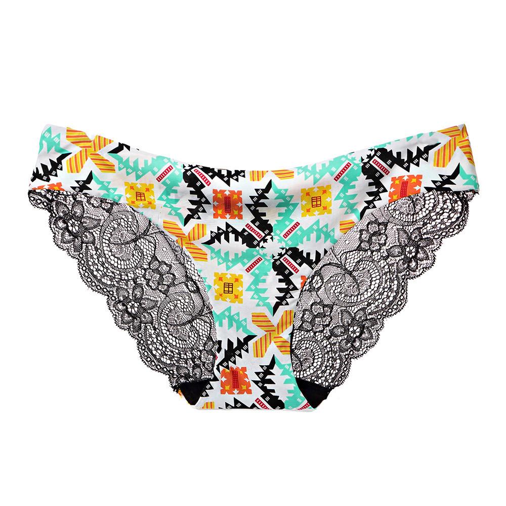 2e303a82aaa 2019 Sexy Underwear Women Lace Flowers Low Waist Underwear Panties G ...