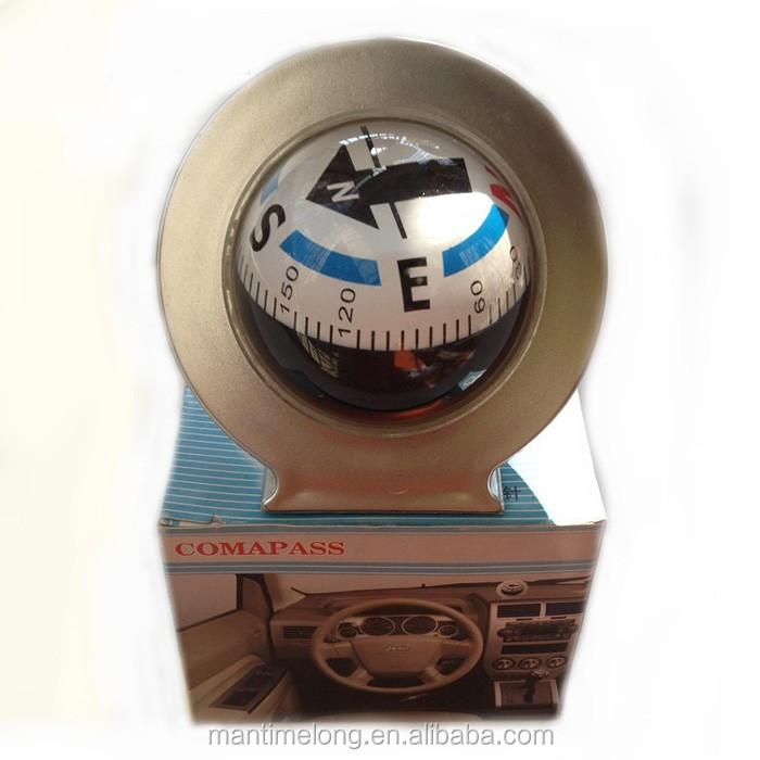 SANON Boussole de Voiture Inclinom/ètre Guide de Voiture Angle de Balle Inclinaison Niveau M/ètre Outil de Recherche /Équilibreur Mesure /Équipement pour V/éhicule de Voiture Mer Marine