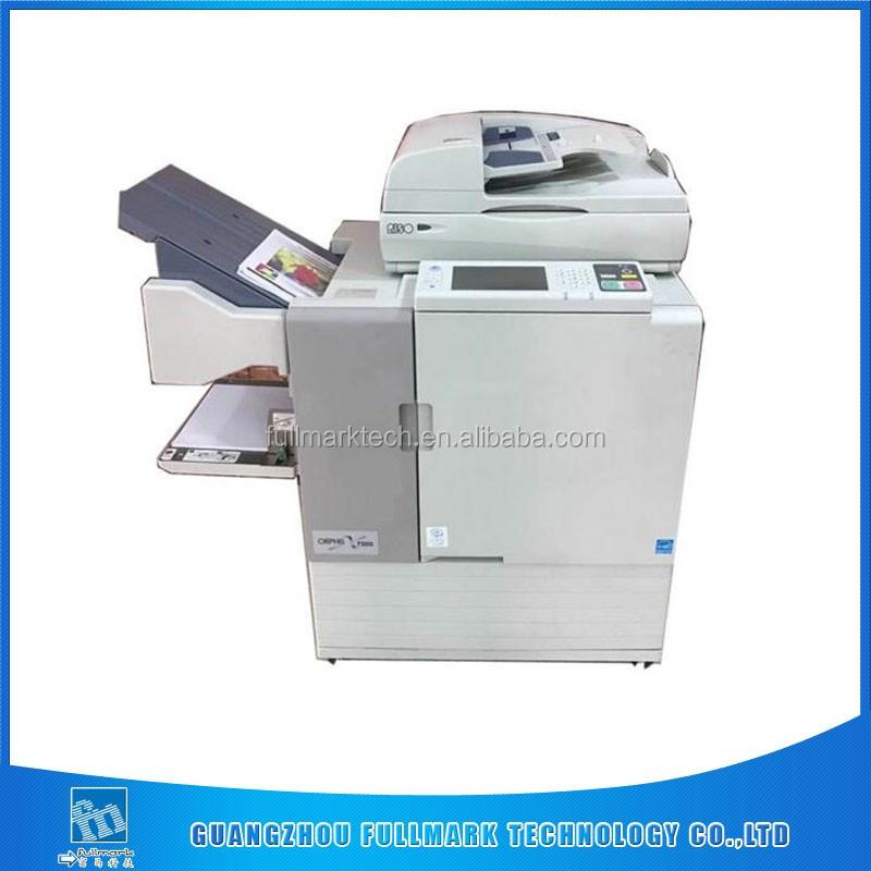 Risos comcolor inkjet printer X7150/7250 used risographs digital duplicator machine