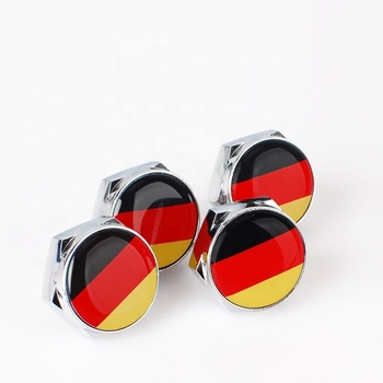 Wholesale and Custom german flag license plate screws and all car logo