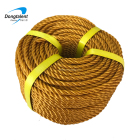 String 6mm 8mm 3 Strand Danline Type And PP Material Twisted Plastic Polypropylene Rope Packaging Rope Twine String
