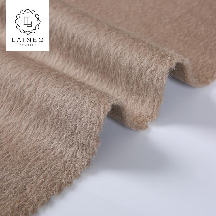 woven woolen fabric wholesale fleece baby alpaca 100 wool fabric