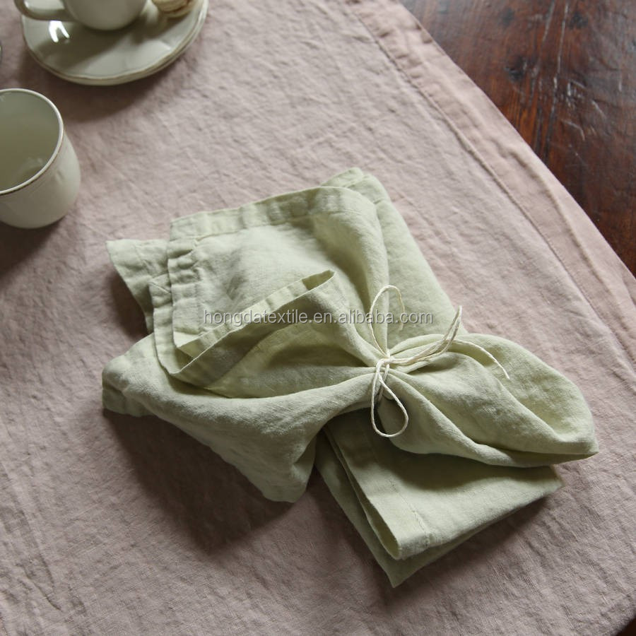 Скатерть из мытой льняной ткани, скатерть из 100% льна