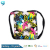 100% cotton towel travel backpack bag