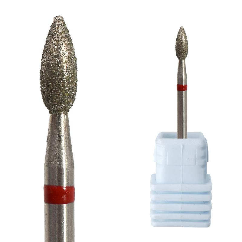 Алмазное сверло для ногтей, абразивный инструмент для полировки ногтей