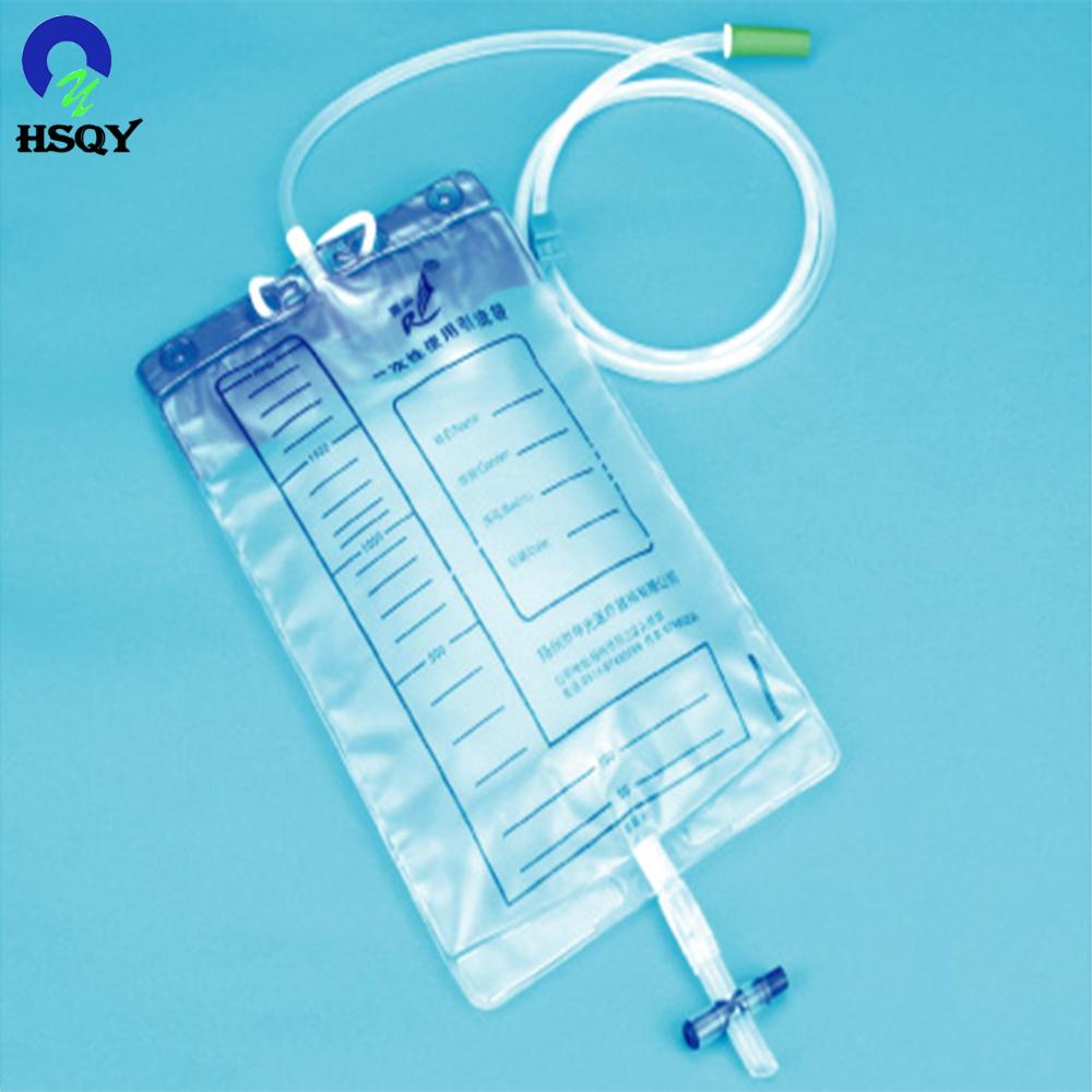 Медицинские мешки для мочи, пластиковые ПВХ мешки, ПВХ пленка