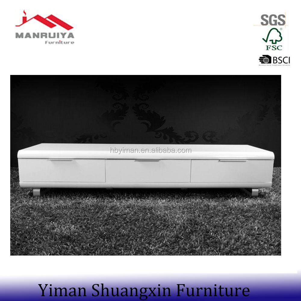 High gloss home furniture Living room Modern TV stand