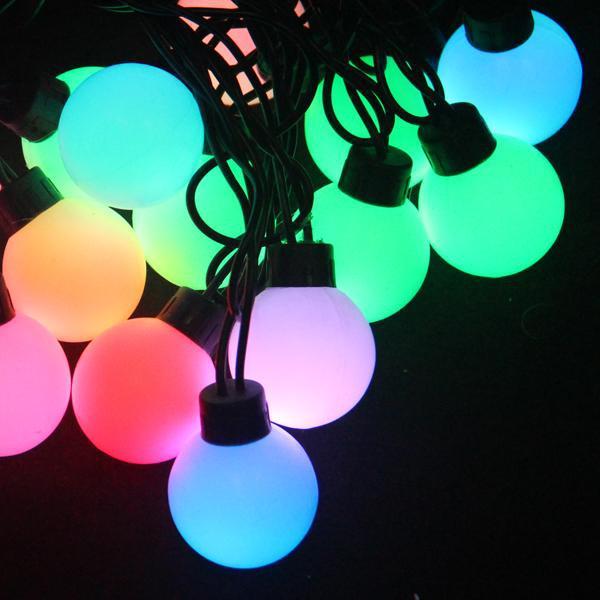 grosse boule led guirlande lumineuse de no l pour la d coration de no l. Black Bedroom Furniture Sets. Home Design Ideas