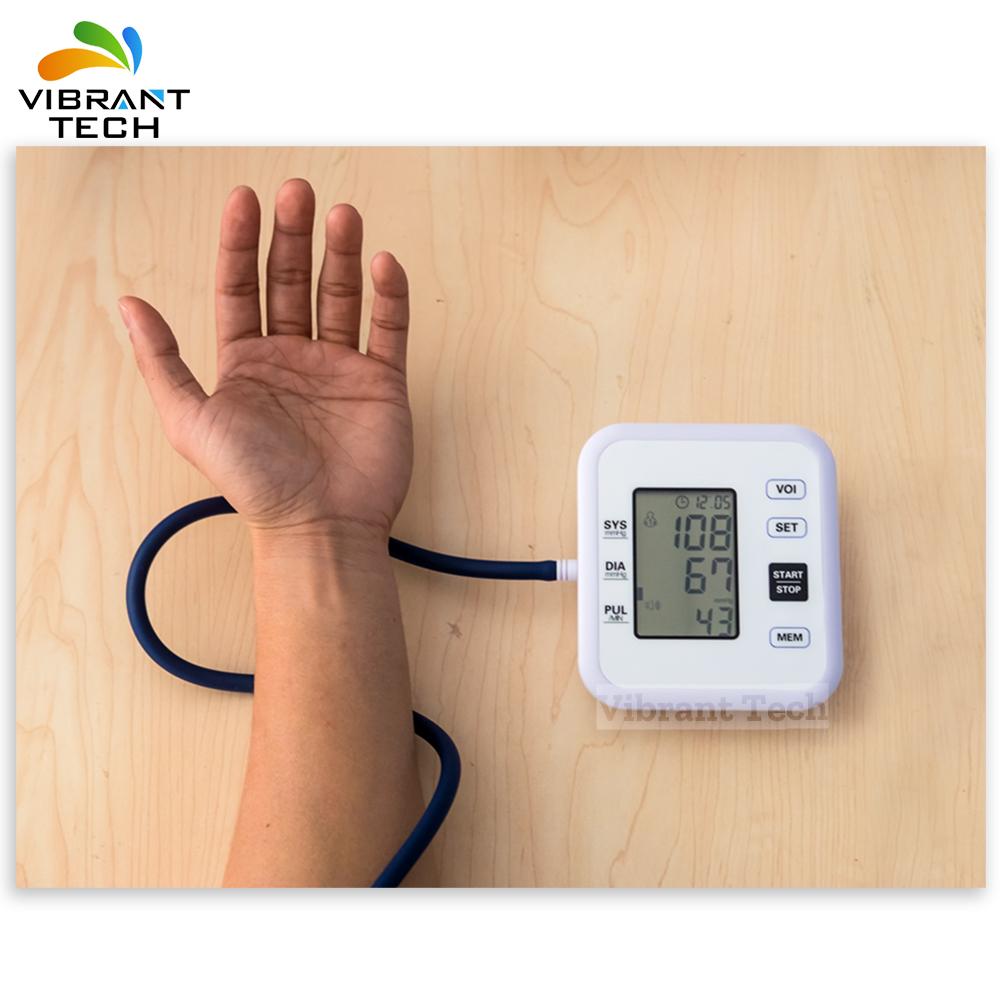 Автоматическая Цифровая кровяное давление измерения пульса прибор
