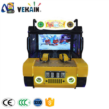 ball shooting game machine hot sale coin operated arcade game machine video game console for kids