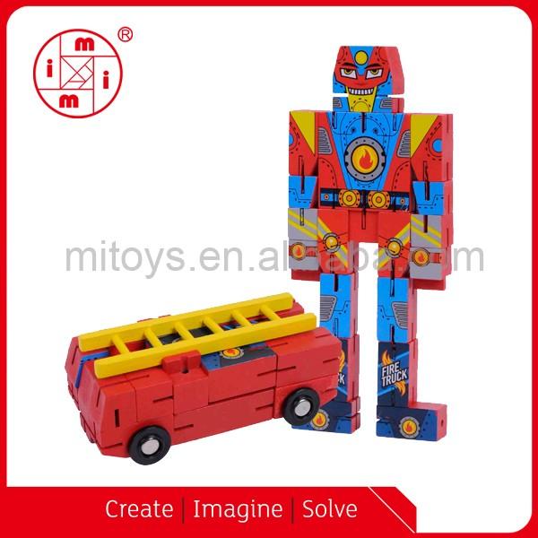 Кубики деревянного кубика Детские креативные головоломки игрушки удивительная форма кубический пазл