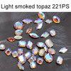 Light Smoked Topaz SI