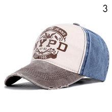 NYPD Кепка-Дальнобойщик, винтажная бейсбольная кепка для мужчин и женщин, черная хлопковая кепка в стиле хип-хоп, уличная одежда(Китай)