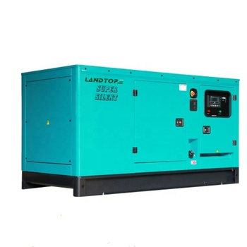 LANDTOP 60 KW 75KVA Diesel Generators Super Silent soundproof Type Three Phase 380V 60Hz 50Hz Factory Sale