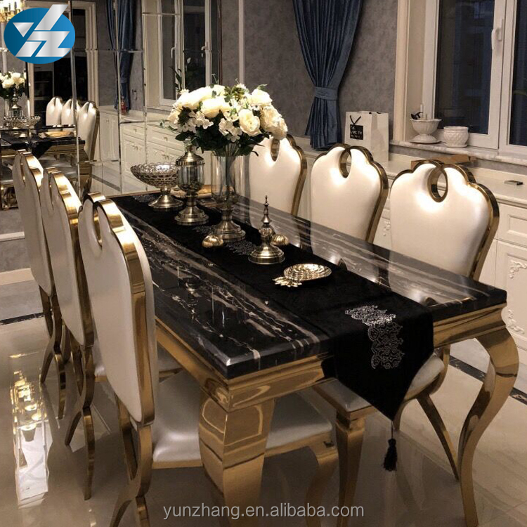 Rectangular Marble Top Dining Table Buy Dining Table Set Square Marble Dining Table Black Square Marble Dining Table Product On Alibaba Com