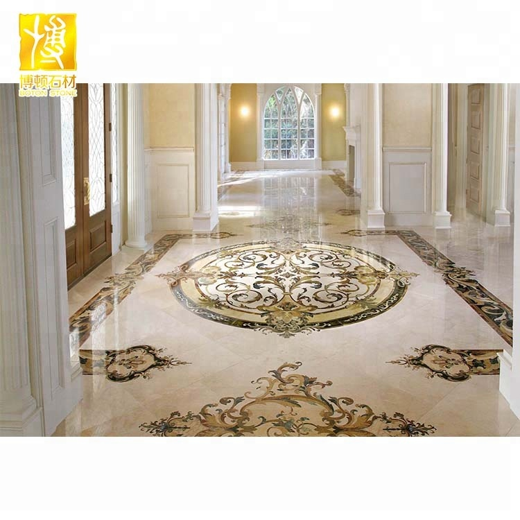 china factory marble medallion waterjet tile floor inlay medallions buy inlay medallions water jet marble floor medallion water jet marble product on alibaba com