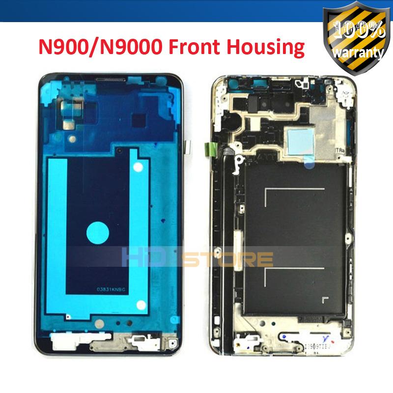 Новый для Samsung Galaxy note 3 n9000 средней обложки лицевая рамка передняя корпус бесплатная доставка