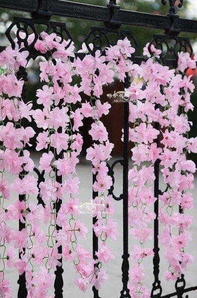 20 pcs lote 4 couleurs options belles vigne suspendus bush. Black Bedroom Furniture Sets. Home Design Ideas
