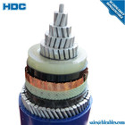 Round Cable Pvc Sheath Pvc Pvc Swa Pvc Cable 10kv MV Round Galvanized Steel Wire Amoured SWA Power Cable CTS/AWA SWA/PVC Single Copper Core XLPE Insulated PVC PE Sheath