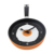 Lovely Design Fried Pan Clock Plastic Kitchen Wall Clock for Home Decoration Quartz Time Clocks Horloge Murale