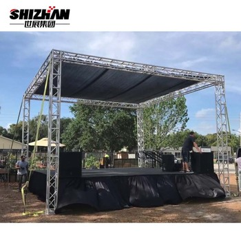 Hot sale dj stand lighting booth aluminum truss