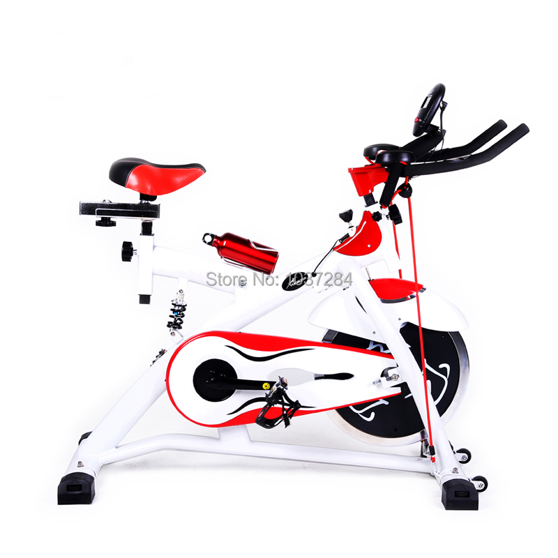 Spinning Bike Lose Weight: Bicycle Mute Household Indoor Fitness Equipment Foot Lose