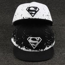 New Baby Boys Girls Snapback Hats Caps Baseball Cap Kids Children Superman Hats 3 10 Years
