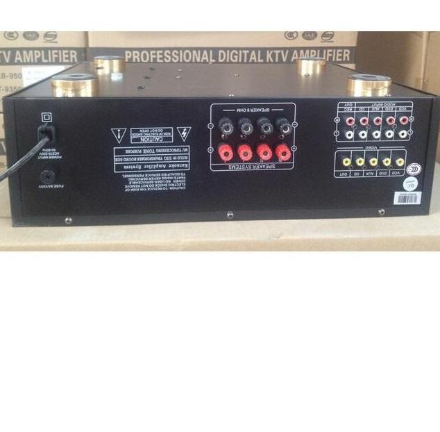Kb-580u стерео профессиональный караоке микшер усилитель