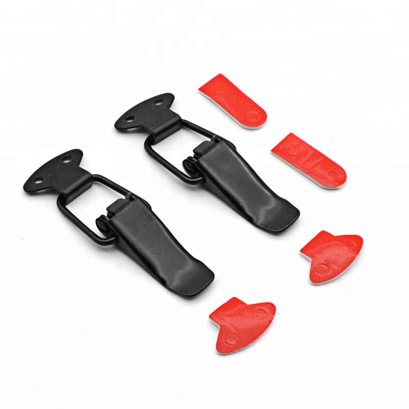NEW STYLE CAR BIG BLACK BOOT BONNET SIDE BUMPER TOGGLE FASTENERS CATCH CLIPS