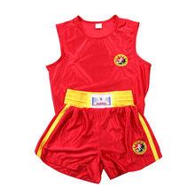 Вышивка для женщин/мужчин боксерские шорты + майки футболки комплект одежды Тхэквондо/Санда/Муай Тай/ММА(Китай)