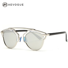 AEVOGUE Polarized Sunglasses Women Newest Brand Butterfly Alloy frame Specialties Polaroid lens Sun Glasses Oculos UV400 AE0178