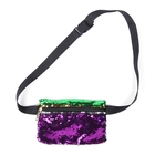 New orleans women totebags packs Reversible gold green Mardi Gras sequin Funny bags
