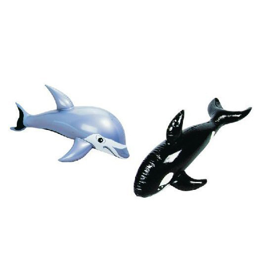 animal ride-on inflatable dolphin float