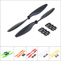 2pc Carbon Nylon 10x4 5 1045 1045R CW CCW Propeller Multi Copter quadCopter APC