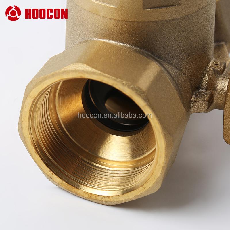 KV4.0 dn50 клапан 3-ходовой шаровой кран из латуни для 24NM привод